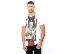 Religion Money Sex T-Shirt | White | Footasylum