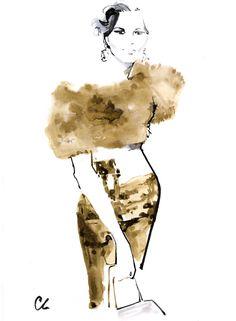 D&G fashion illustration