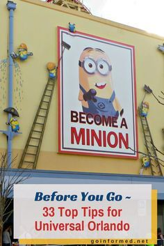 Things to Know Before You Visit Universal Orlando Minions ride at Universal Studios Orlando. 33 Top Tips to know before you visit from .Minions ride at Universal Studios Orlando. 33 Top Tips to know before you visit from . Disney Cruise, Disney World Vacation, Disney Trips, Florida Vacation, Cruise Vacation, Vacation Destinations, Vacation Ideas, Florida Travel, Disney 2017