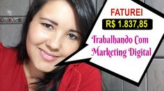FATUREI 1.837,85 Trabalhando Como Afiliada no Marketing Digital I Miriam...