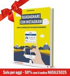SOLO PER OGGI IL 50% di sconto sull'eBook Guadagnare con Instagram www.markomorciano.com/4431/articoli/instagram/guadagnare-con-instagram-ebook-di-marko-morciano/
