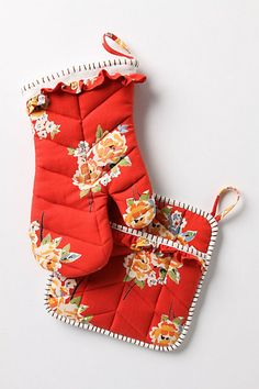 Pot Holders from Anthropologie.