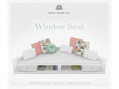 Window Seat RIFLE PAPER COLLECTION - The Sims 4 Download - SimsDom