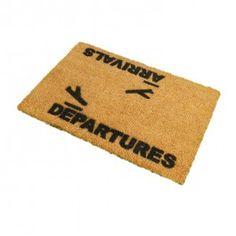 Arrivals + Departures Doormat