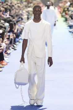 0aa2d94fa77 All the Looks From the Louis Vuitton Spring 2019 Menswear Collection