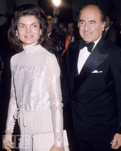 Jackie Onassis at the Kennedy Center, May 1976.