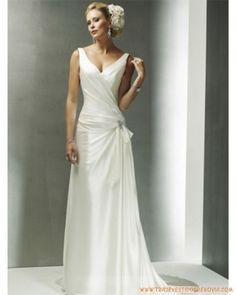 Vestido de novia de civil | Estilo y Belleza