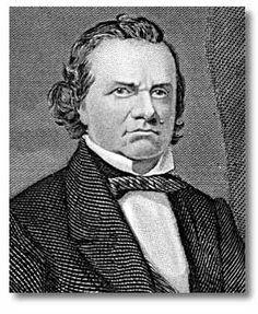 Stephen Douglas, author of the Kansas-Nebraska Act. This legislation cancelled out the Missouri Compromise. Missouri Compromise, Nebraska, Kansas, Us History, Civil Rights, War, Lesson Plans, Author, Lesson Planning