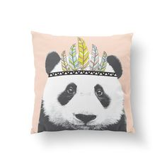 Panda Pillow, Kids P