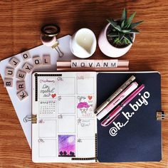 "k_k bujo lettering kréyòl (@k_k.bujo) sur Instagram : ""Hey Guys this is my weekly. Yeah I am really late and I think I will take it easy all month long.…"""