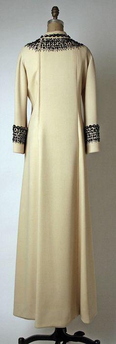 Pierre Balmain evening dress 1966 by designer Halston for House of Balmain.