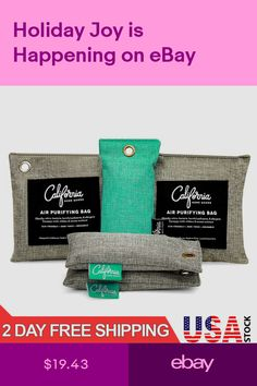 California Home Goods Air Fresheners Home & Garden Toilet Spray, Car Air Freshener, Scented Oils, California Homes, Air Purifier, Bath And Body Works, Bamboo, Packing, Charcoal