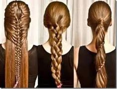 trenzas fciles paso a paso para nias largas peinados