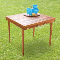 Table to go: get the plans - Handyman Club - Scout
