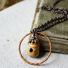 The Bee Keeper- Apiary charm necklace