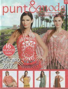 Punto & moda №97 2012, modelo 16 pero sin mangas