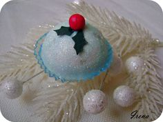 #cupcakes #christmasdecoration #blue