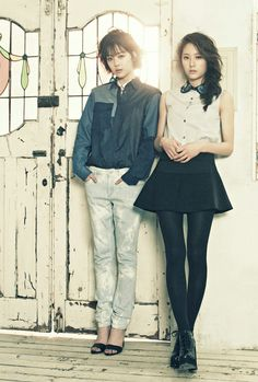 Sulli (f(x)) & Krystal (f(x)) for #High Cut 94
