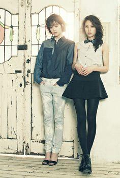 Sulli (f(x)) & Krystal (f(x)) for #High Cut 94