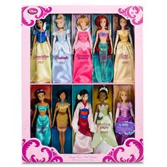 I saw this in Target the other day!  Love this! All 10 Disney Princess Dolls!!