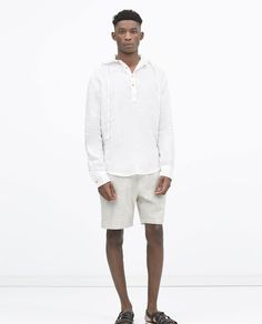 Image 1 of KNITTED BERMUDAS from Zara