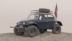 3D Vehicle Modeling - Volkswagen Baja Bug on Behance