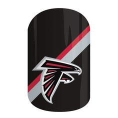 Atlanta Falcons | NFL Collection by Jamberry | Get gameday style with Jamberry's NFL Collection. Our officially licensed NFL products feature your favorite team logo and colors so you can cheer your team to victory with 'Atlanta Falcons' on your nails.