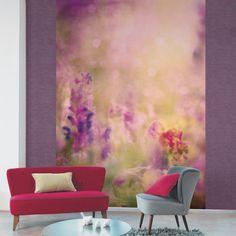 Collection AMAZING : papier-peint, panoramique, fleurs, pastel, romantique, chic