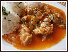 Risotto, Meat, Chicken, Ethnic Recipes, Food, Hokkaido, Essen, Meals, Yemek