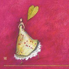 """""""La fille et la feuille coeur"""", de Gaëlle Boissonnard"""