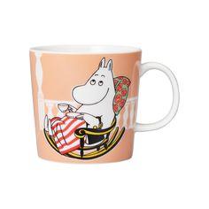 Moomin Shop, Moomin Mugs, Troll, Orange Mugs, Moomin Valley, Tove Jansson, Pale Orange, Fun Cup, Novelty Items