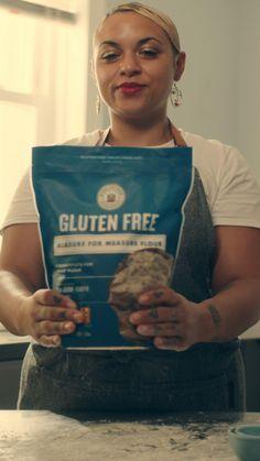 Gluten Free Baking, Gluten Free Sweets, Gluten Free Flour, Gluten Free Diet, Foods With Gluten, Dairy Free Recipes, Fodmap Recipes, Dairy Free Snacks, Gluten Free Chocolate Chip Cookies