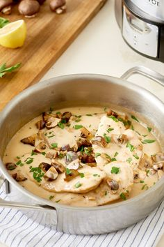 Recipe: Slow Cooker Chicken Marsala — Quick and Easy Weeknight Dinners