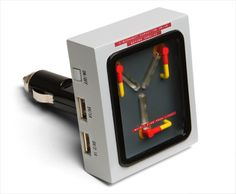 Amazon.com : Back to the Future Flux Capacitor USB Car Charger by ThinkGeek…