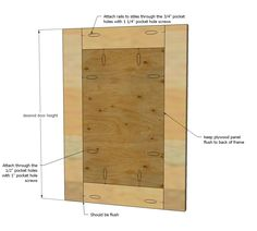 Ana White | Build a Easy Frame and Panel Doors | Free and Easy DIY Project and Furniture Plans