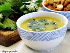 zupa krem z żółtej fasolki szparagowej