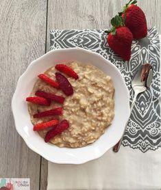 Baby Food Recipes, Vegan Recipes, Vegan Food, Smoothies, Oatmeal, Beverages, Cooking, Breakfast, Food