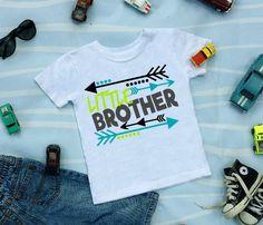 Little Brother Shirt, Sibling Shirt, Little Brother Announcement Shirt, New Baby Announcement Shirt, Family Photo, Big Boy, Raglan Shirt by RagTine on Etsy