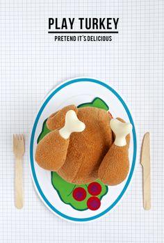 Fun Kids Table Ideas for Thanksgiving via @PagingSupermom