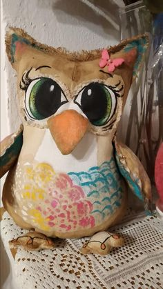 Owls, Throw Pillows, Cushions, Owl, Tawny Owl, Decorative Pillows, Decor Pillows
