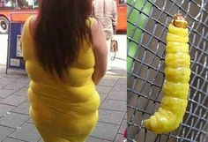 Who Wore it Better? Just because u can wiggle into a dress doesn't means it fits!