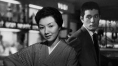 When a Woman Ascends the Stairs (1960, dir. Mikio Naruse) is my favorite Naruse film. Delicate melodrama.