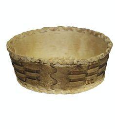 Блюдо берестяное «плетенка»