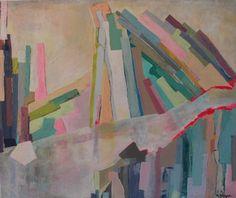 """Saatchi Art Artist Héloïse Delègue; Painting, """"It feels cold"""" #art"""