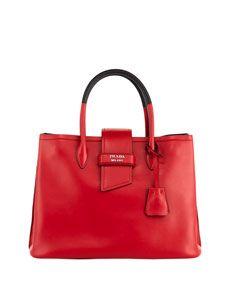 Prada Top Handle Tote Bag