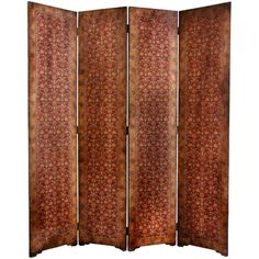 Oriental Furniture 6 ft. Olde-Worlde Rococo Tall Room Divider