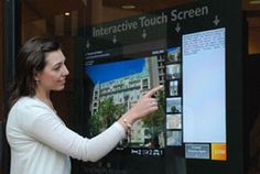 interactive touch screen - Google Search