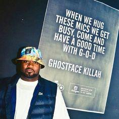 Ghostface Killah rap quote