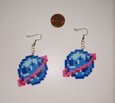 Made with Quality Mini Perler Beads. Melt Beads Patterns, Easy Perler Bead Patterns, Fuse Bead Patterns, Perler Bead Templates, Beading Patterns, Mini Hama Beads, Diy Perler Beads, Perler Bead Art, Fuse Beads
