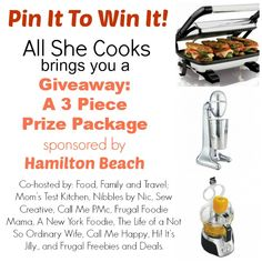 Check out this great giveaway. http://sandi-anewyorkfoodie.blogspot.com/2013/09/pin-it-to-win-it-hamilton-beach-giveaway.html